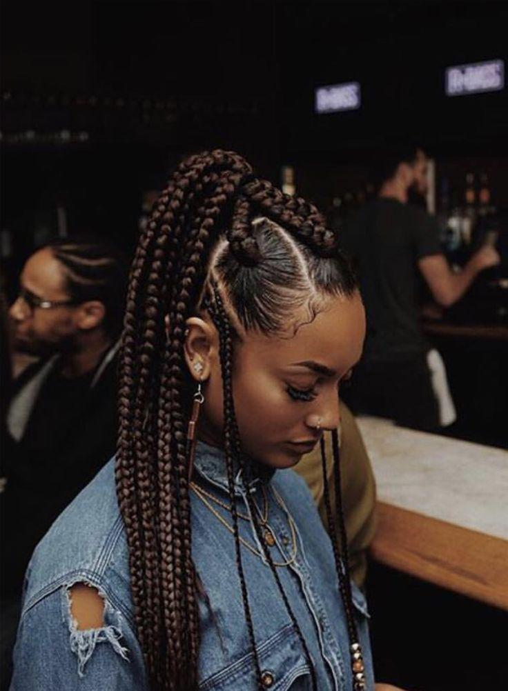 Grownish Braid Hairstyles. Black Girl Box braids, Black hair