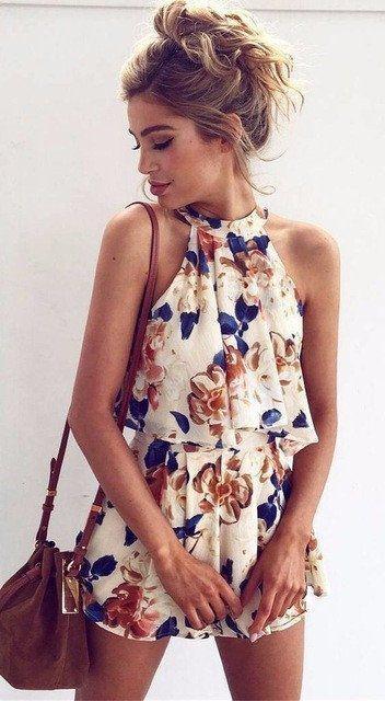 Boho Beach Dress. Boho Beach Dress. Friday Floral Two Piece Romper