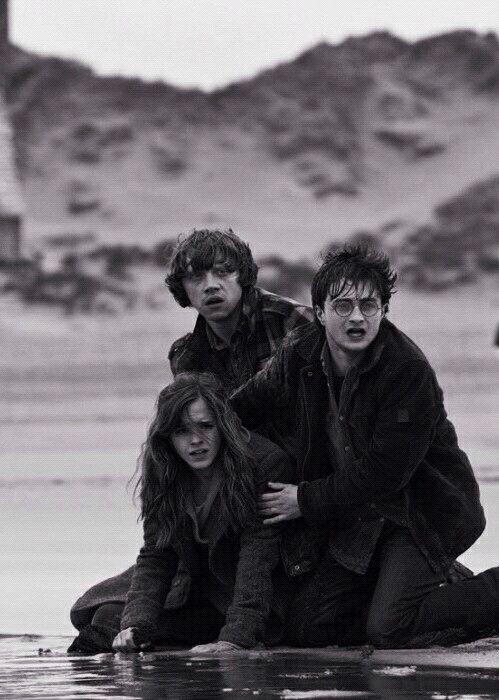 Harry Potter and the Deathly Hallows. Harry Potter I love this pic. Describes of how Harry is so ...
