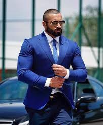 Lazar Angelov Suit. Lazar AngelovLazar Angelov, Formal wear, Physical fitness,