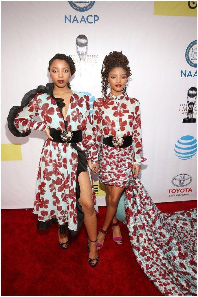Pictured: Halle Bailey and Chloe Bailey Image Source: Getty / Jesse Grant #Class…