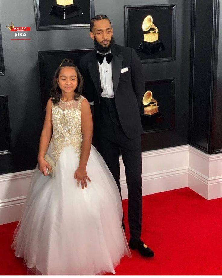 Grammy Award for Best Rap Album. Rapper Nipsey Hussle & His Daughter