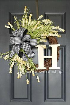 The Wreath Shop – Online Only. Spring Wreath – Front Door Wreaths – Easter Wre ...
