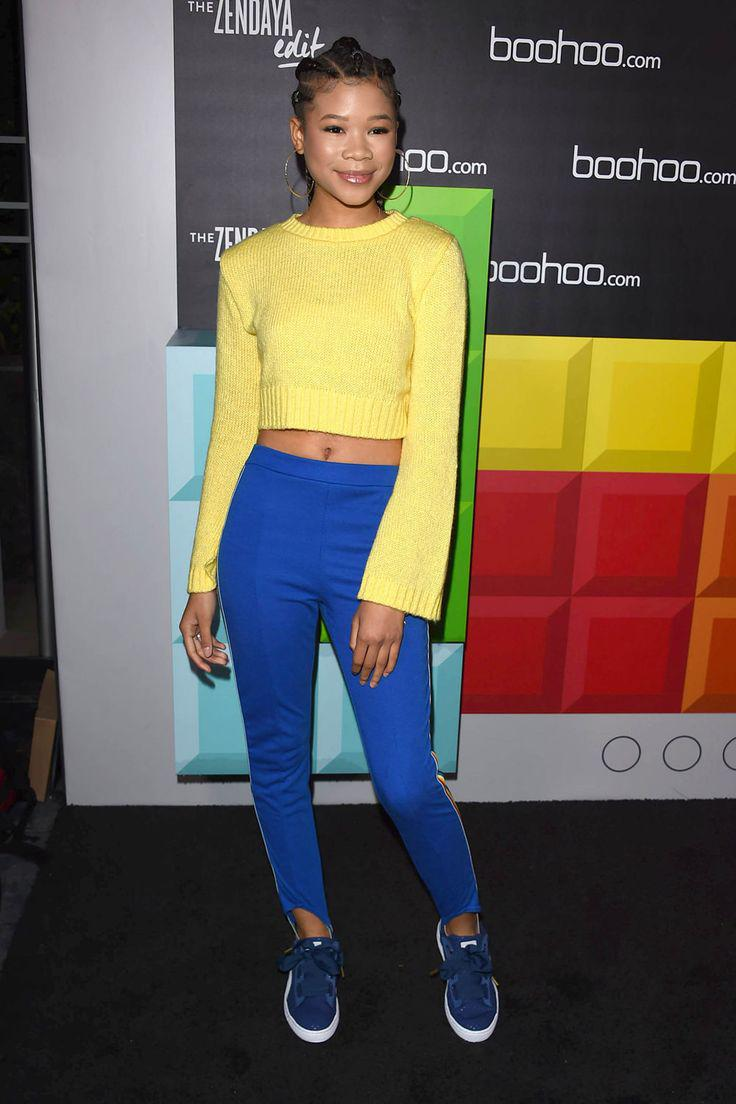 """f66fdccc5d782 Storm Reid Gets it Exactly Right at the Launch of the """"Zendaya Edit"""" line"""