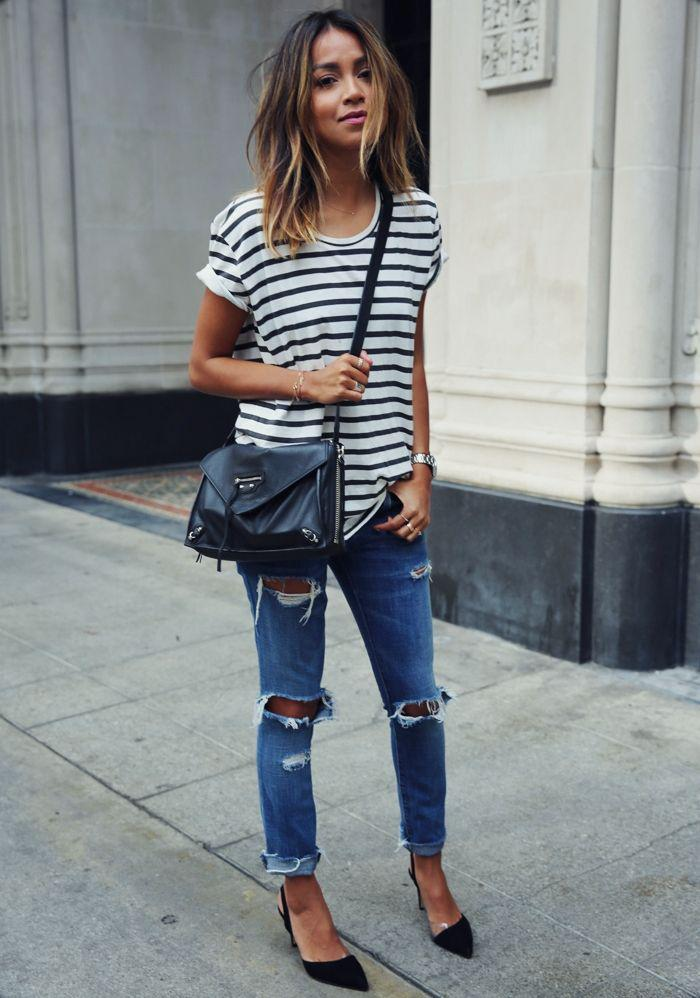 a5980b48188 s t r i p e s. Striped Outfits   Ideas  In 2015 Stripes Are No Longer A  Trend