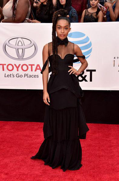 Yara Shahidi Photos Photos: 49th NAACP Image Awards – Red Carpet