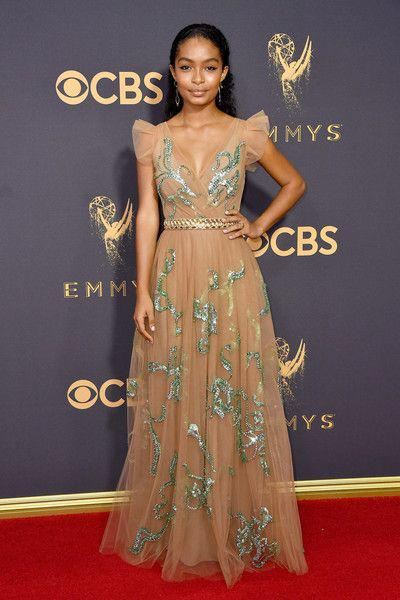 Yara Shahidi Photos Photos: 69th Annual Primetime Emmy Awards – Arrivals