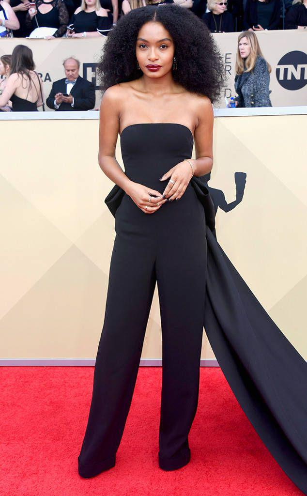 Yara Shahidi from Standout Style Moments at SAG Awards 2018