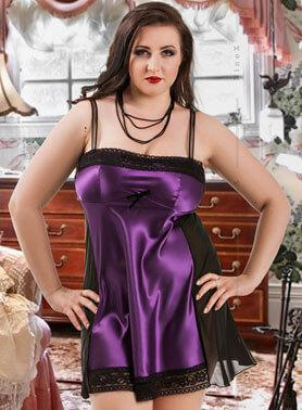 0976482817f7 Plus Size Babydolls and Chemises | NaturalCurves.co.uk on Stylevore