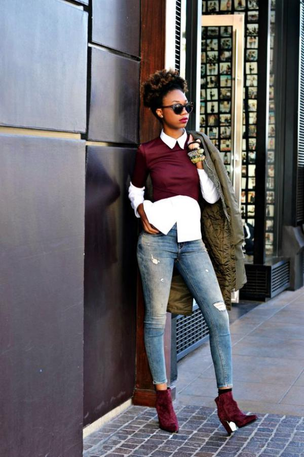 Casual-Work-Outfits-For-Black-Women on Stylevore