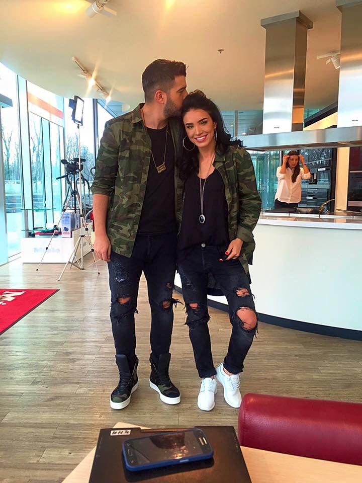 Matching outfits for me and you – couple look idea – army look!