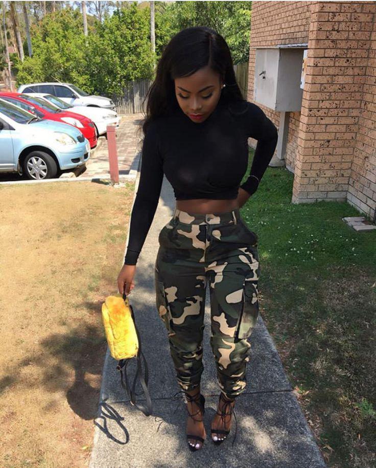 Black Girls Street fashion