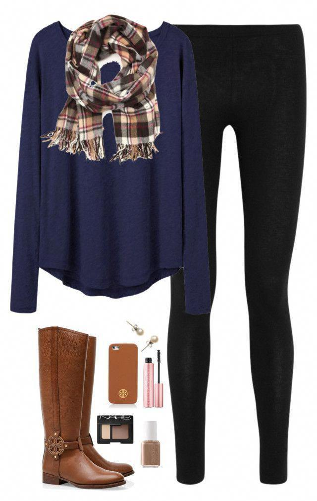Leggings Outfits, Casual wear, Full plaid