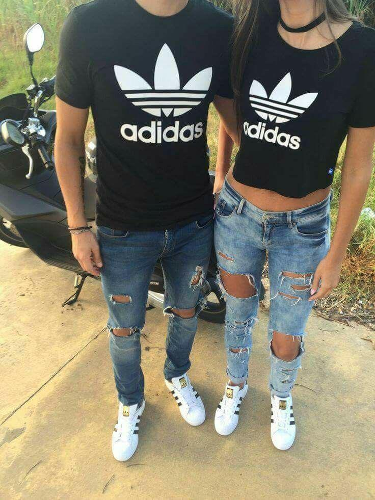 Matching Couple Outfits, Adidas Superstar, Clothing Accessories