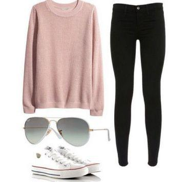 White converse outfits, Fall Outfit Casual wear, Clothing Accessories