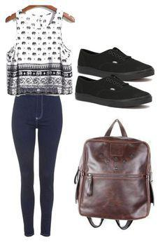 Polyvore Summer Outfit Ideas For Teenage Girls.