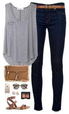 Striped Long Sleeve, Baddie Stitch Fix, Polyvore Outfits
