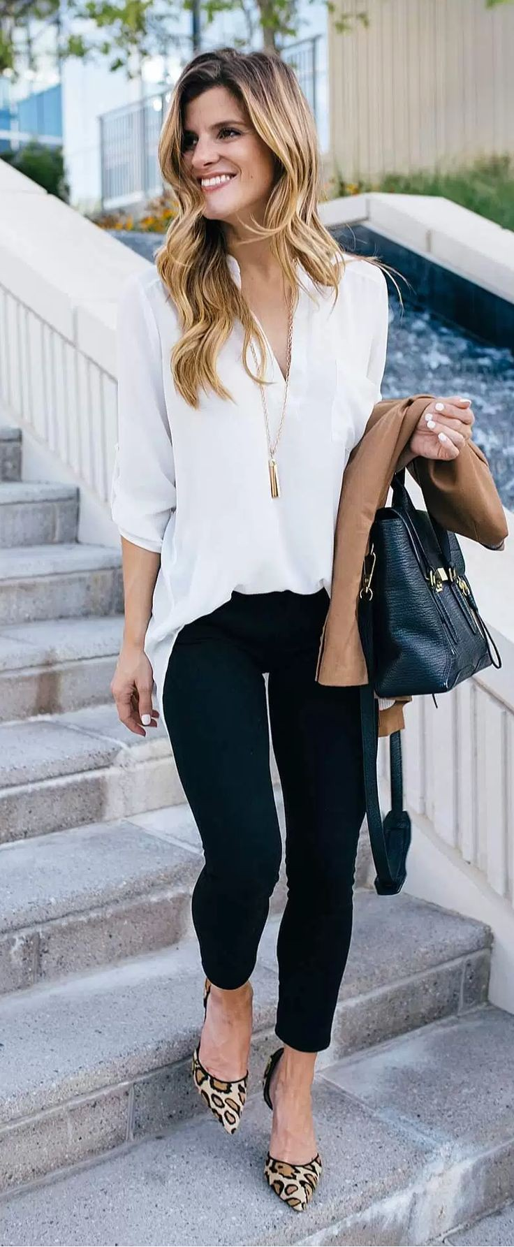 Business Outfit Frau skinny jeans | Fashion, Business casual