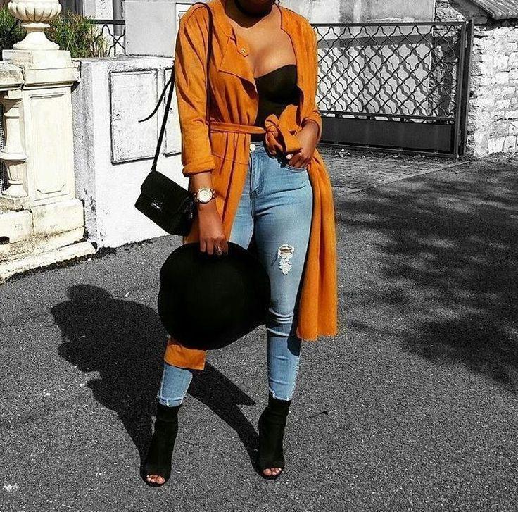Black Girls Casual wear Fur clothing