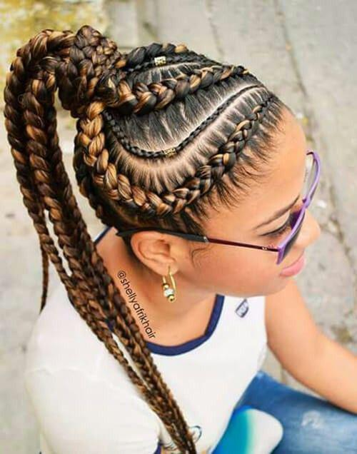 Black Girl Ponytail Hairstyles Black Girl Box Braids Black