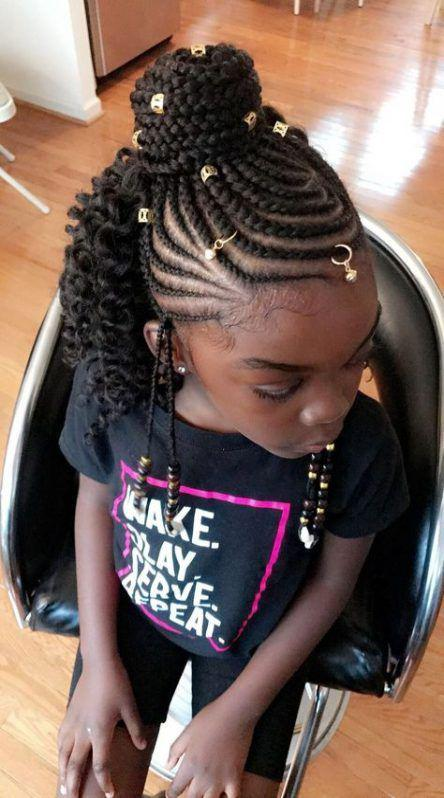 Hairstyles Ideas For Girls Black Back To School on Stylevore