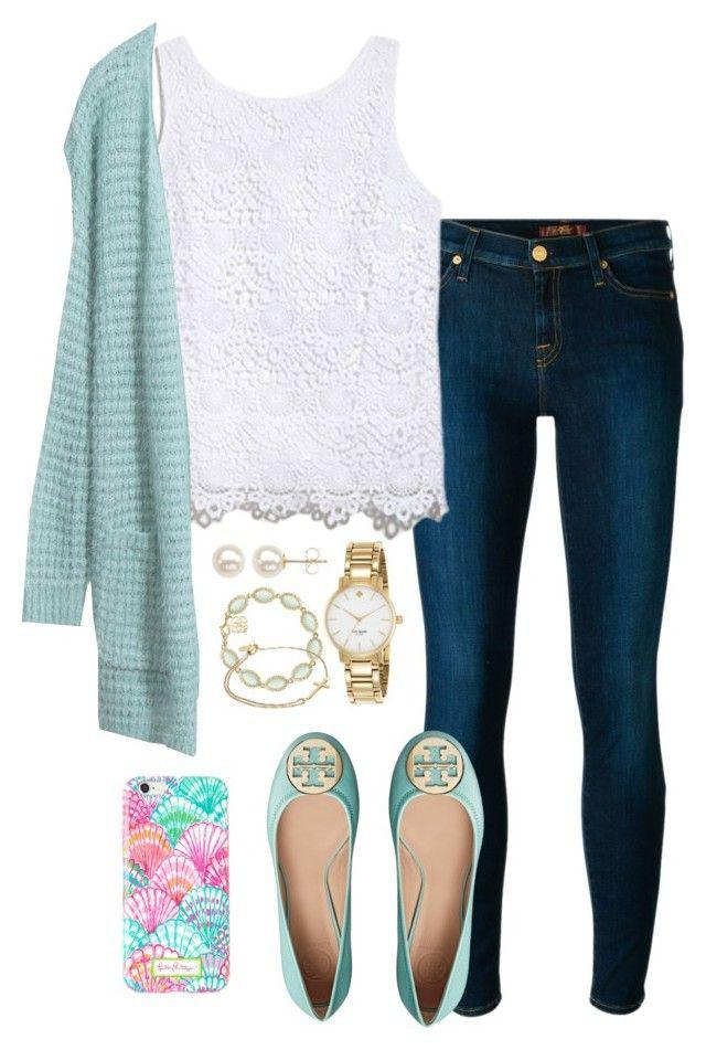 6a505a120 Casual Church Polyvore Outfit Ideas For Teenage Girl. on Stylevore