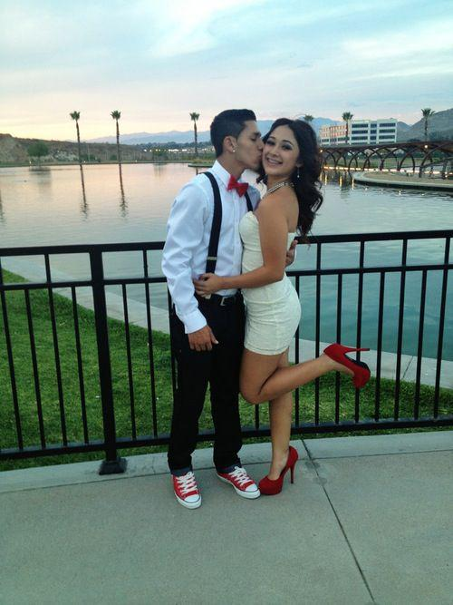 Homecoming Outfits Couple Dance Party Winter Formal On Stylevore