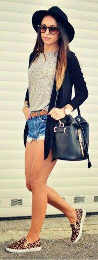 Best Casual Shorts Spring Outfit Combinations
