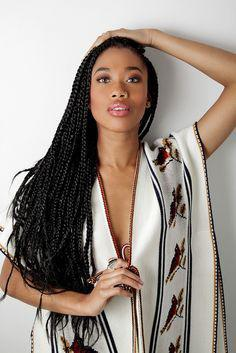 Artificial hair integrations, Black Girl Box braids, Afro-textured hair