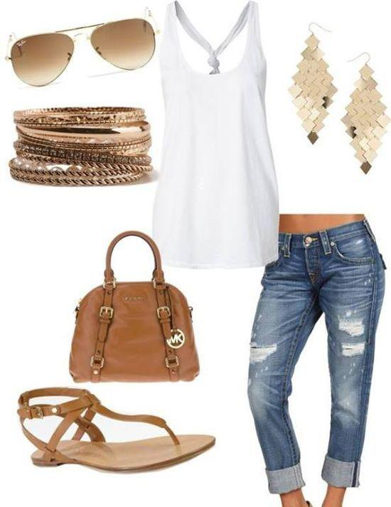 4d8a5c2923e Casual summer outfit