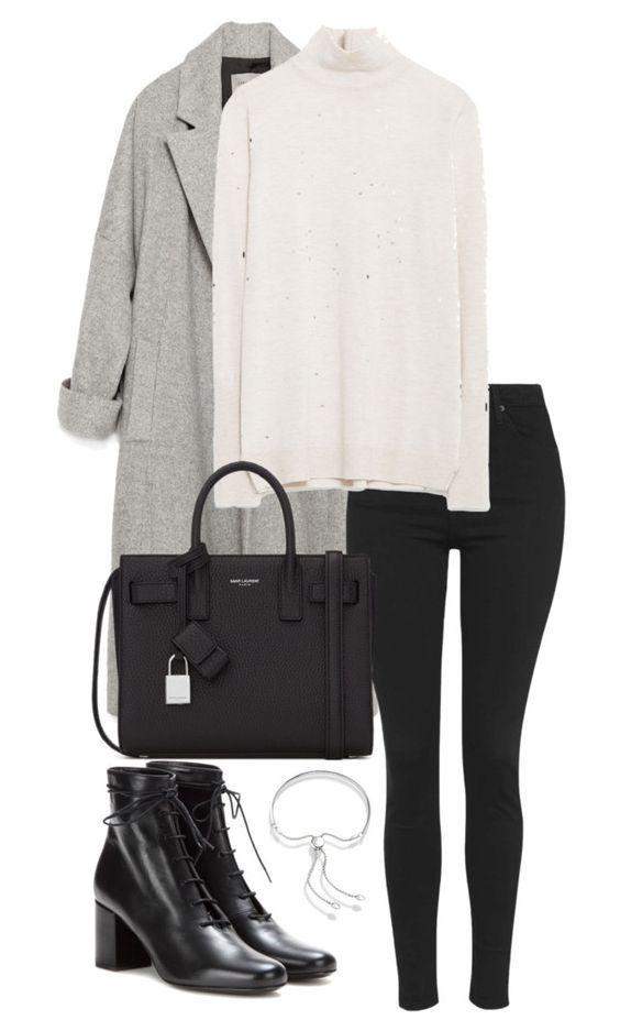 Yves Saint Laurent, Fall Outfit Dion Lee, Street fashion