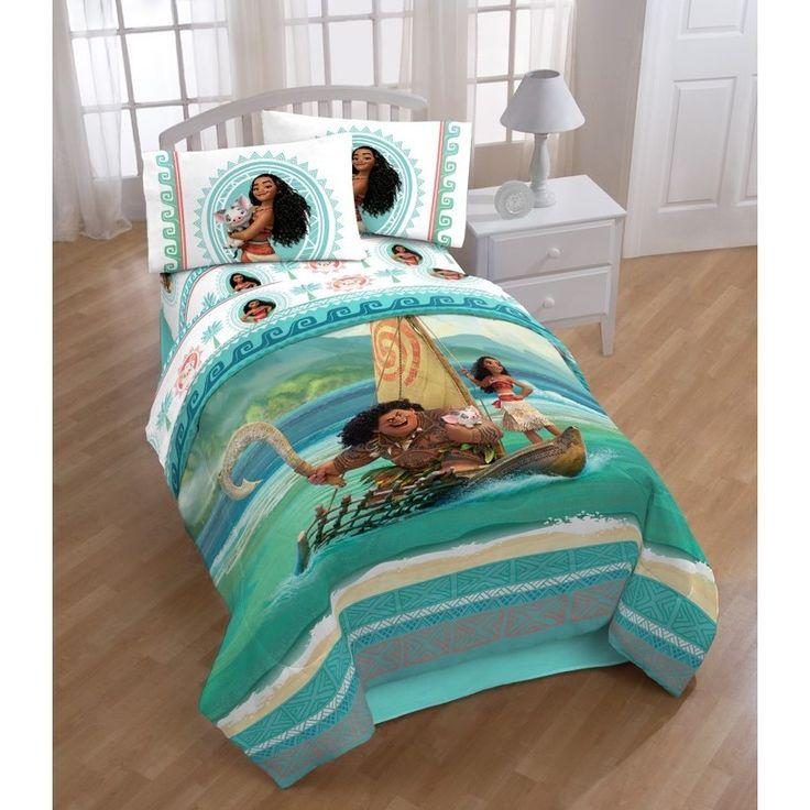 Toddler bed, Bed Sheets – moana, bed, bedroom, film
