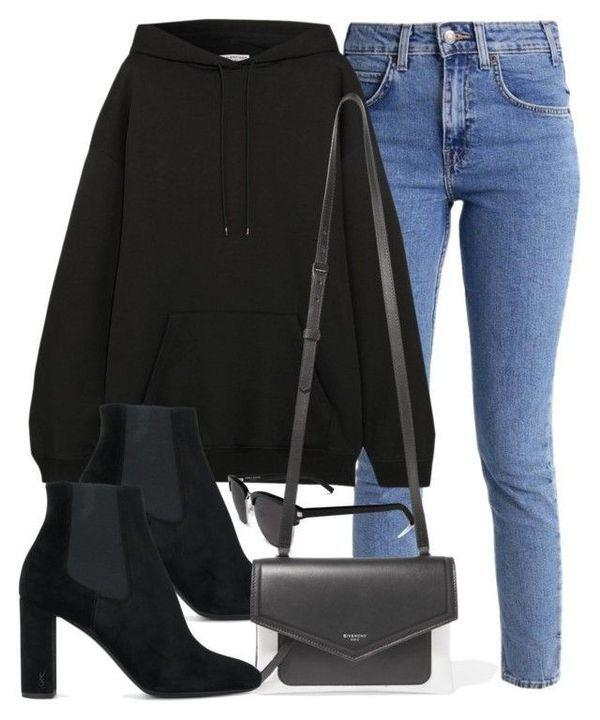 Fall Outfit Casual wear, Polo neck