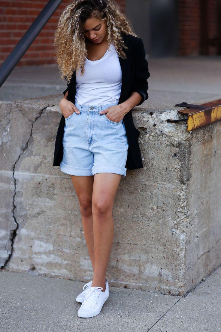 Photo , Electric blue – jeans, denim, shorts, fashion