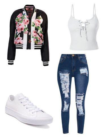 dc945cf5a886 Middle School Outfit, Baddie Middle school, High school on Stylevore