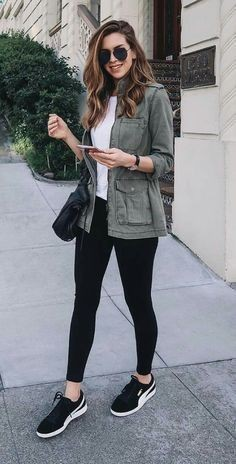 Casual outfits ideas with leggings for girls