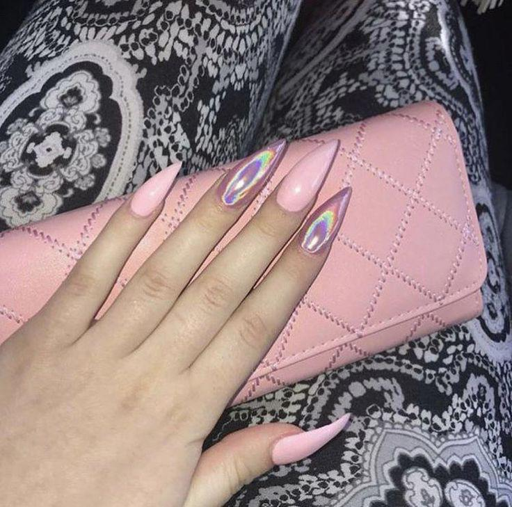Black Girls Nail Art Artificial Nails On Stylevore