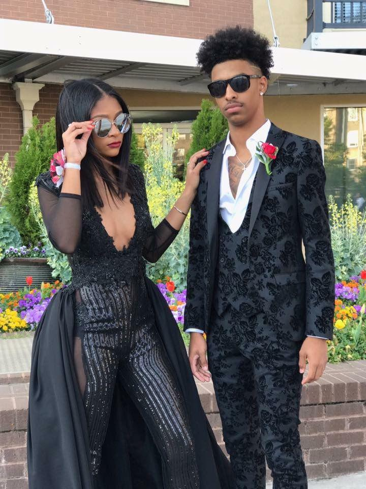 Homecoming Outfits For Black Young Couples