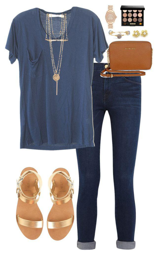 cute summer outfit, Polyvore Summer Casual wear, cute outfits