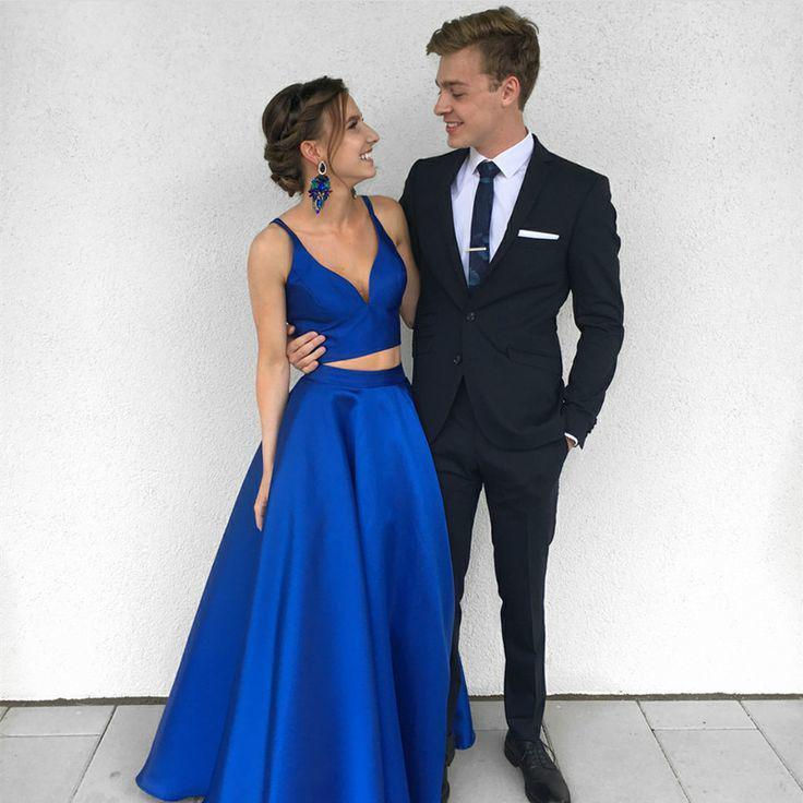 BLUE PROM DRESS, Homecoming Outfits #Couple Evening gown ...