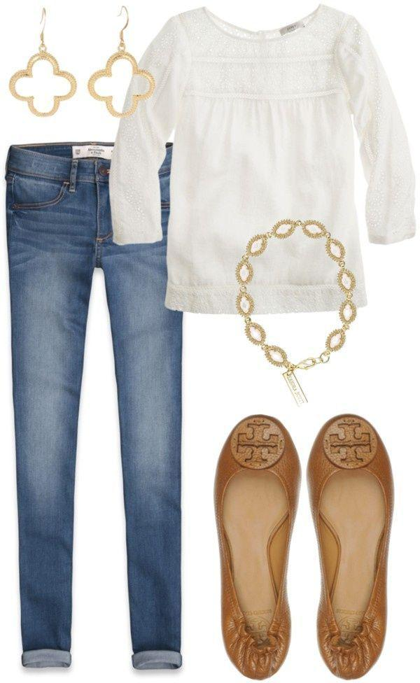 Polyvore Dinner Outfit For Girls.
