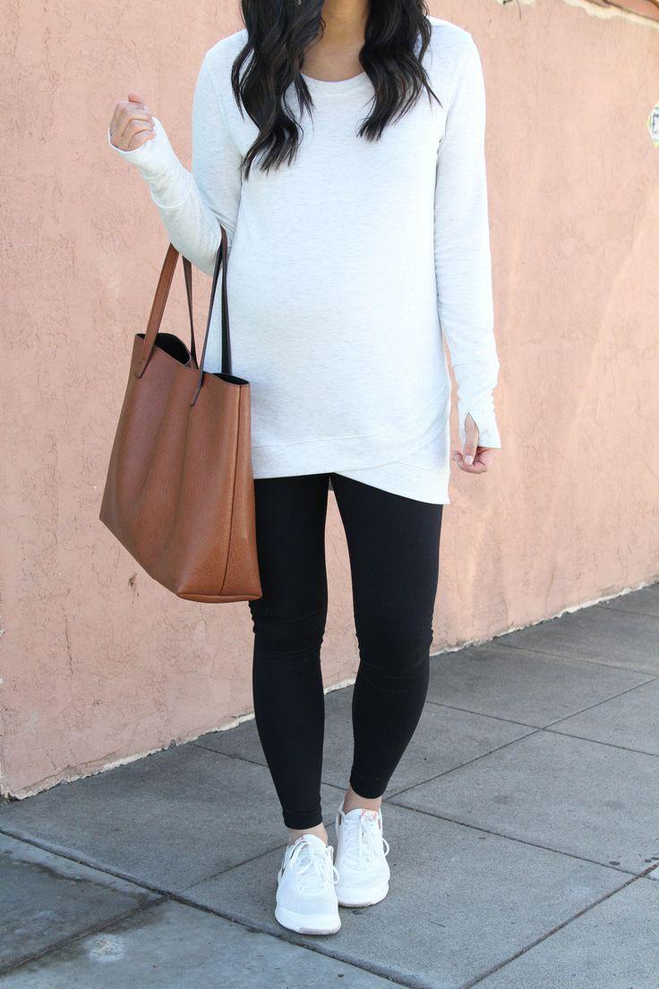 Maternity clothing with legging!