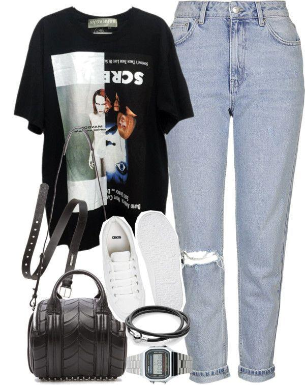 Fall Outfit Casual wear – jeans, clothing, fashion, t-shirt