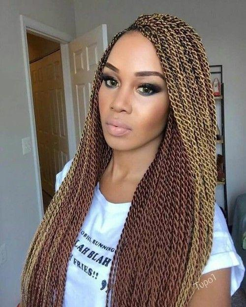 Black Girl Crochet Braids African Hairstyles On Stylevore
