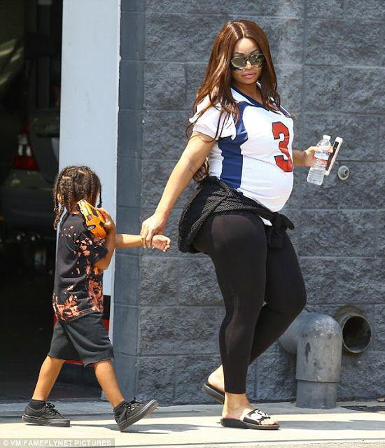 Pregnant Blac Chyna, Blac Chyna, Los Angeles
