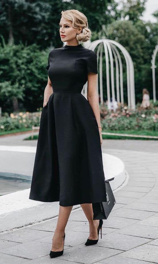 Best and adorable funeral dresses, Little black dress on ...