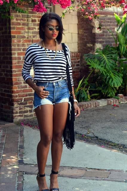 Summer casual outfit for black women