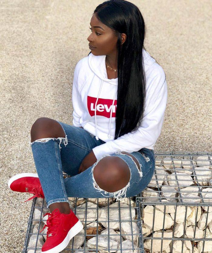 Outfit for teen black girl to show some swag! on Stylevore