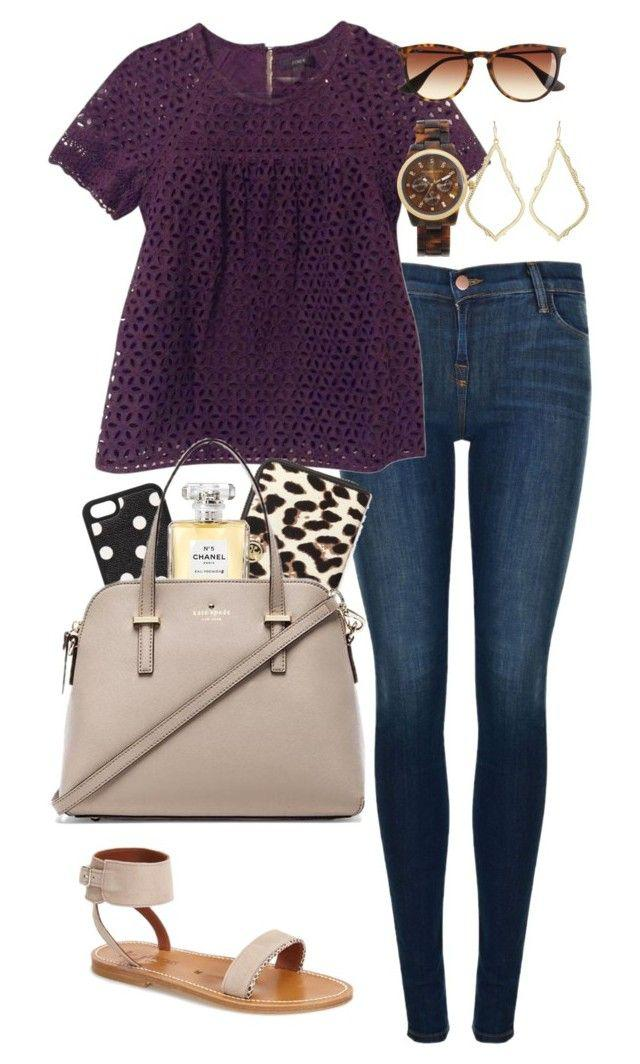 Fall Outfit Casual wear, Polka dot