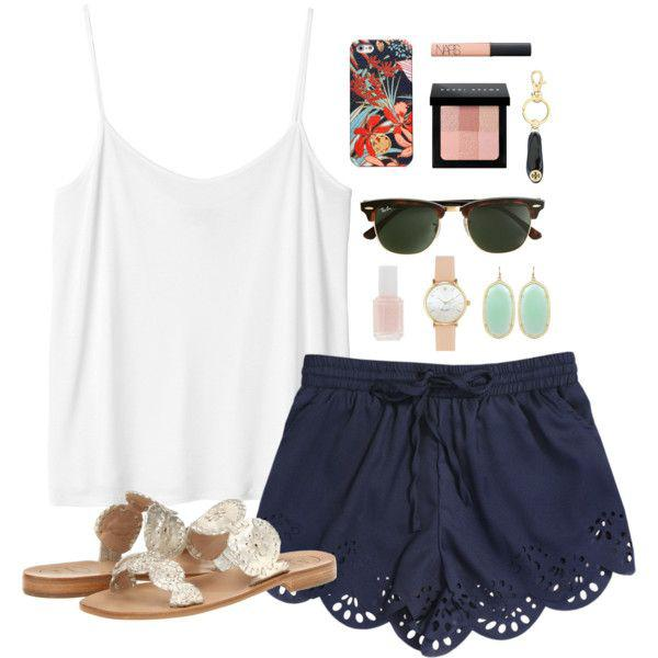 a7b8d1f8ec6 New Summer Outfits Ideas From Polyvore on Stylevore